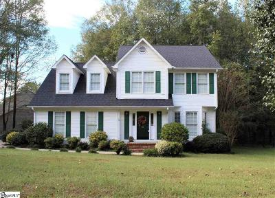 Simpsonville Single Family Home For Sale: 22 Staffordshire