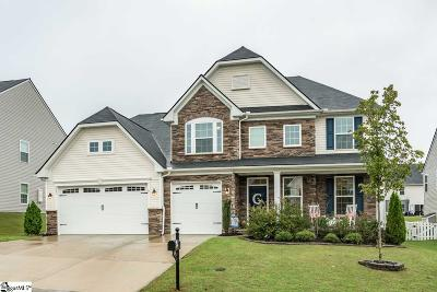 Simpsonville Single Family Home For Sale: 351 Kelsey Glen