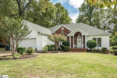 Taylors Single Family Home For Sale: 7 Bellfort