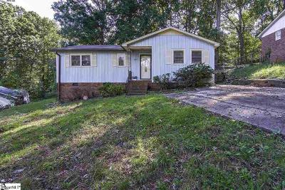 Greenville Single Family Home For Sale: 405 High Valley