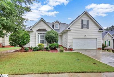 Simpsonville Single Family Home For Sale: 807 Bindon