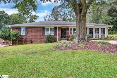 Greenville Single Family Home For Sale: 217 McDonald