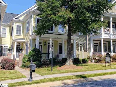 Greenville Condo/Townhouse For Sale: 18 Rivoli