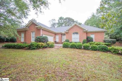 Easley Single Family Home For Sale: 105 Harrogate