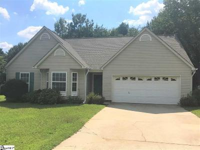Simpsonville Single Family Home For Sale: 104 Old Field
