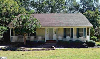 Greenville County Single Family Home For Sale: 1611 Winding