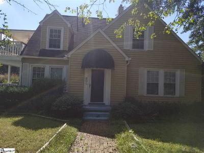Anderson Single Family Home For Sale: 801 Glenwood