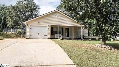 Easley Single Family Home For Sale: 164 Quail Haven