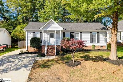 Simpsonville Single Family Home For Sale: 217 Oak Valley