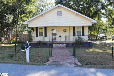 Greenville Single Family Home For Sale: 287 Moore
