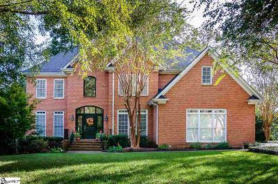Simpsonville Single Family Home For Sale: 716 Carriage Hill