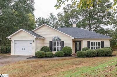 Simpsonville Single Family Home For Sale: 106 Trumpeter
