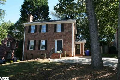 Greenville Single Family Home For Sale: 15 Moultrie