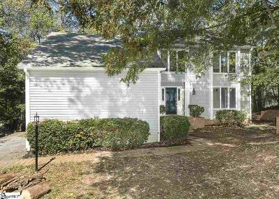 Spartanburg Single Family Home For Sale: 115 Roswell