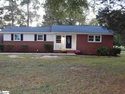 Simpsonville Single Family Home For Sale: 109 Sparsewood