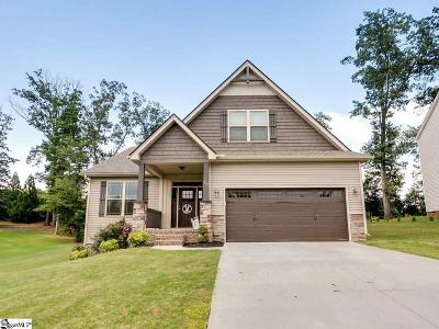 Greer Single Family Home For Sale: 212 Willowgreen