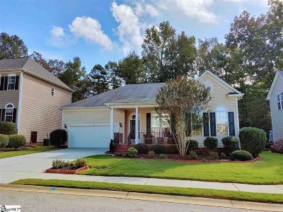 Simpsonville Single Family Home For Sale: 43 Waters Reach