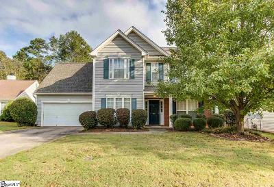 Greenville Single Family Home For Sale: 236 Bonnie Woods