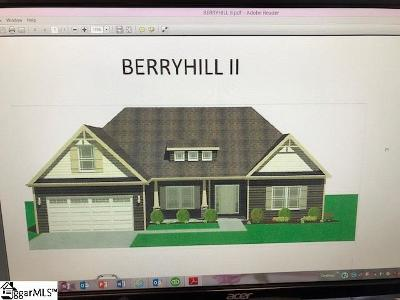 Greenville Single Family Home Contingency Contract: 203 Blacksmith
