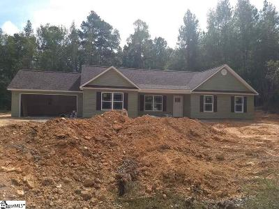 Anderson Single Family Home For Sale: 106 Sm Lyerly #Lot 4