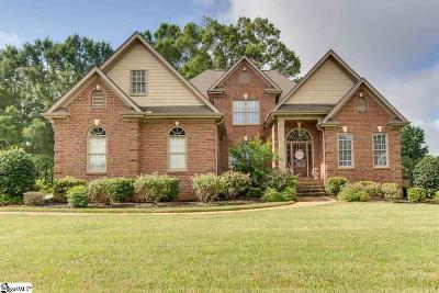 Simpsonville Single Family Home For Sale: 1 Sanibel Oaks