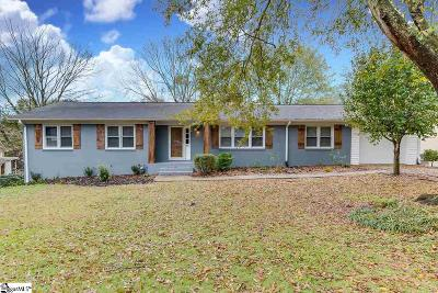 Greenville Single Family Home For Sale: 500 Rollingreen