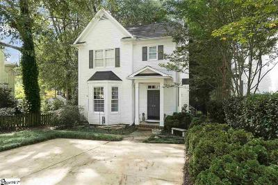 Greenville Single Family Home For Sale: 510 Meyers