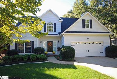 Simpsonville Single Family Home For Sale: 1 Matteson Brook