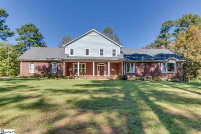 Spartanburg Single Family Home For Sale: 4980 Clifton Glendale