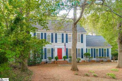 Greenville SC Single Family Home For Sale: $262,500