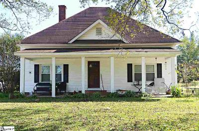 Inman Single Family Home For Sale: 4951 New Cut