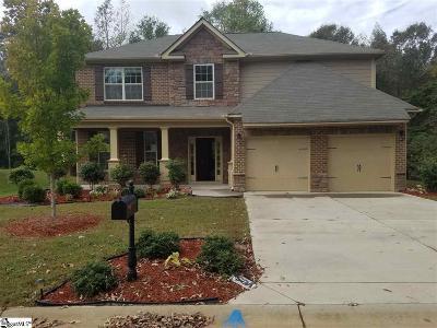 Fountain Inn Single Family Home For Sale: 20 Trailwood