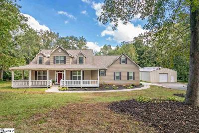 Greer Single Family Home For Sale: 115 Douglas