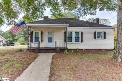 Greenville SC Single Family Home For Sale: $112,500
