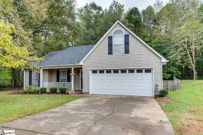 Simpsonville Single Family Home For Sale: 6 Pond View