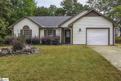 Simpsonville Single Family Home For Sale: 9 Chinaberry