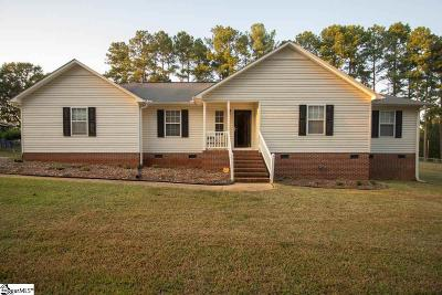 Anderson SC Single Family Home For Sale: $170,000