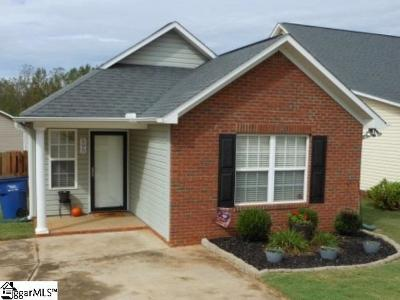 Boiling Springs SC Single Family Home For Sale: $133,000
