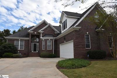 Simpsonville SC Single Family Home For Sale: $400,000