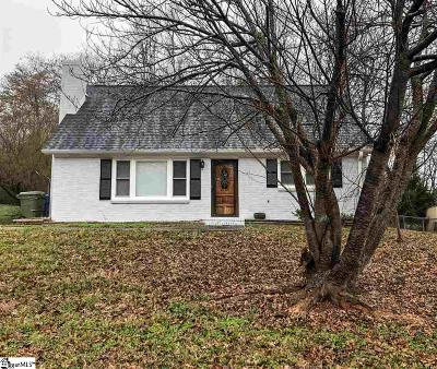 Travelers Rest Single Family Home For Sale: 106 Cox
