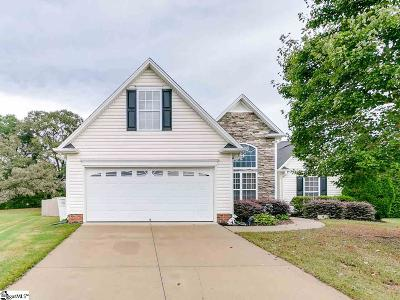 Simpsonville Single Family Home For Sale: 16 Montreat