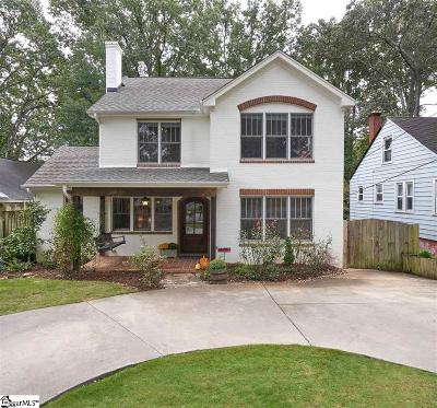 Greenville Single Family Home Contingency Contract: 40 Douglas