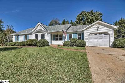 Greenville County Single Family Home For Sale: 304 Fairwood