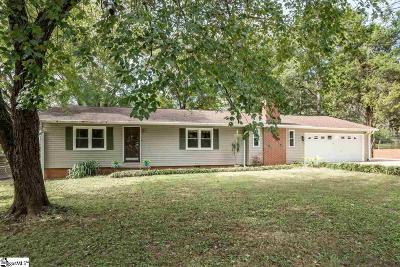 Spartanburg SC Single Family Home For Sale: $159,000