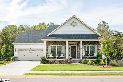 Boiling Springs SC Single Family Home For Sale: $295,000