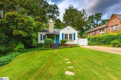 Greenville Single Family Home For Sale: 209 McDonald