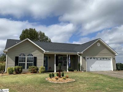Fountain Inn Single Family Home Contingency Contract: 624 Sweet William