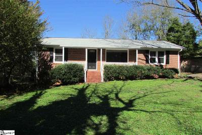 Taylors Single Family Home For Sale: 58 Stallings