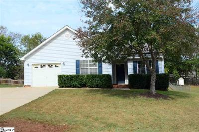 Taylors SC Single Family Home For Sale: $144,900