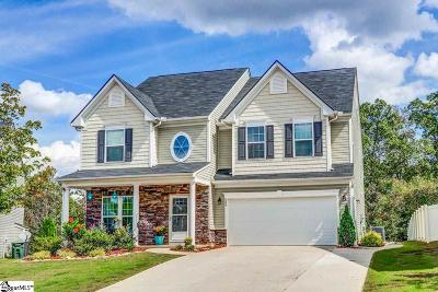 Simpsonville SC Single Family Home For Sale: $349,000